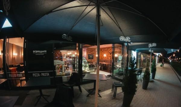 RESTAURACJA BONAPPETIT - Wnętrze lokalu